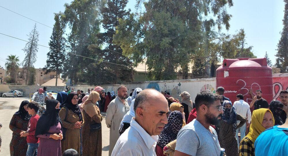 مساعدات إغاثية عاجلة في الحسكة، سوريا 31 أغسطس 2021
