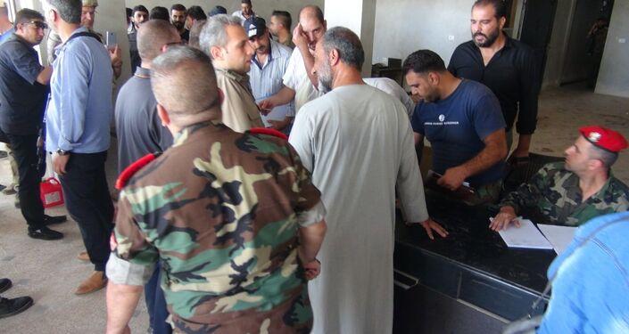 تسوية أوضاع 212 مسلحا في درعا، سوريا 1 سبتمبر 2021