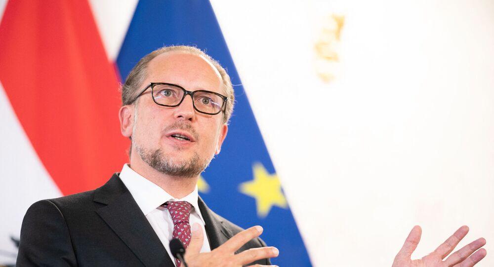 وزير الخارجية النمساوي، ألكسندر شالينبرغ