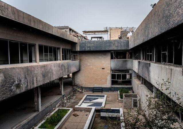مستشفى الشفاء في الموصل، العراق 29 أبريل 2019