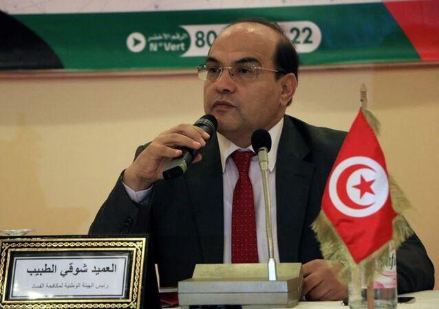 الرئيس السابق لهيئة مكافحة الفساد بتونس شوقي الطبيب