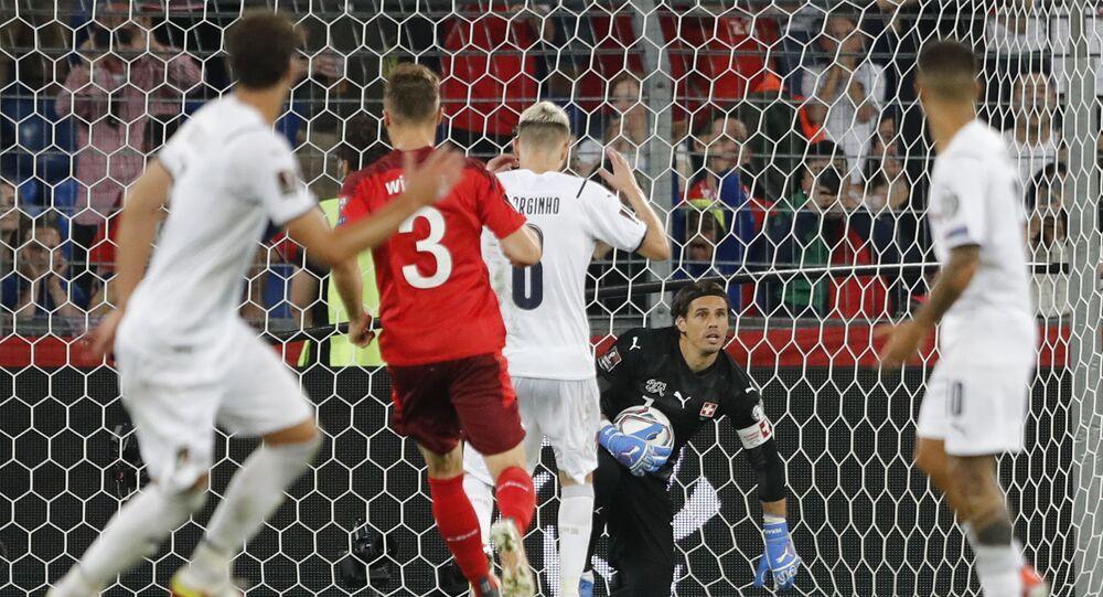 مباراة إيطاليا وسويسرا