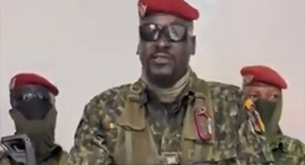 القوات الخاصة بقيادة مامادي دومبويا، غينيا 5 سبتمبر 2021