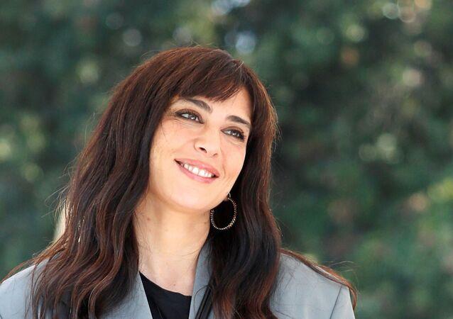 المخرجة اللبنانية، نادين لبكي، في مهرجان فينيسيا السينمائي الدولي الـ78