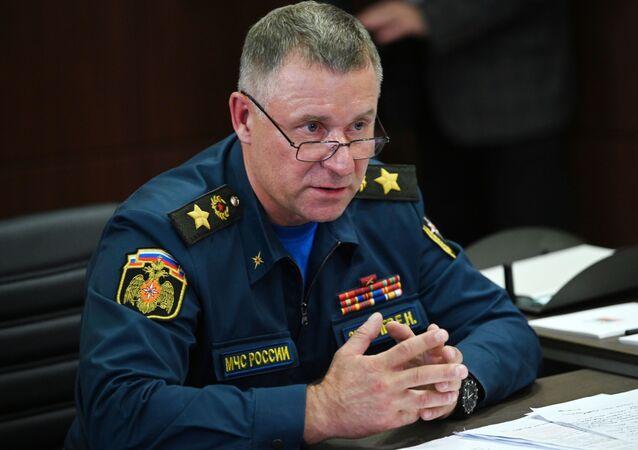 رئيس الدفاع المدني الروسي يفغيني زينيتشيف