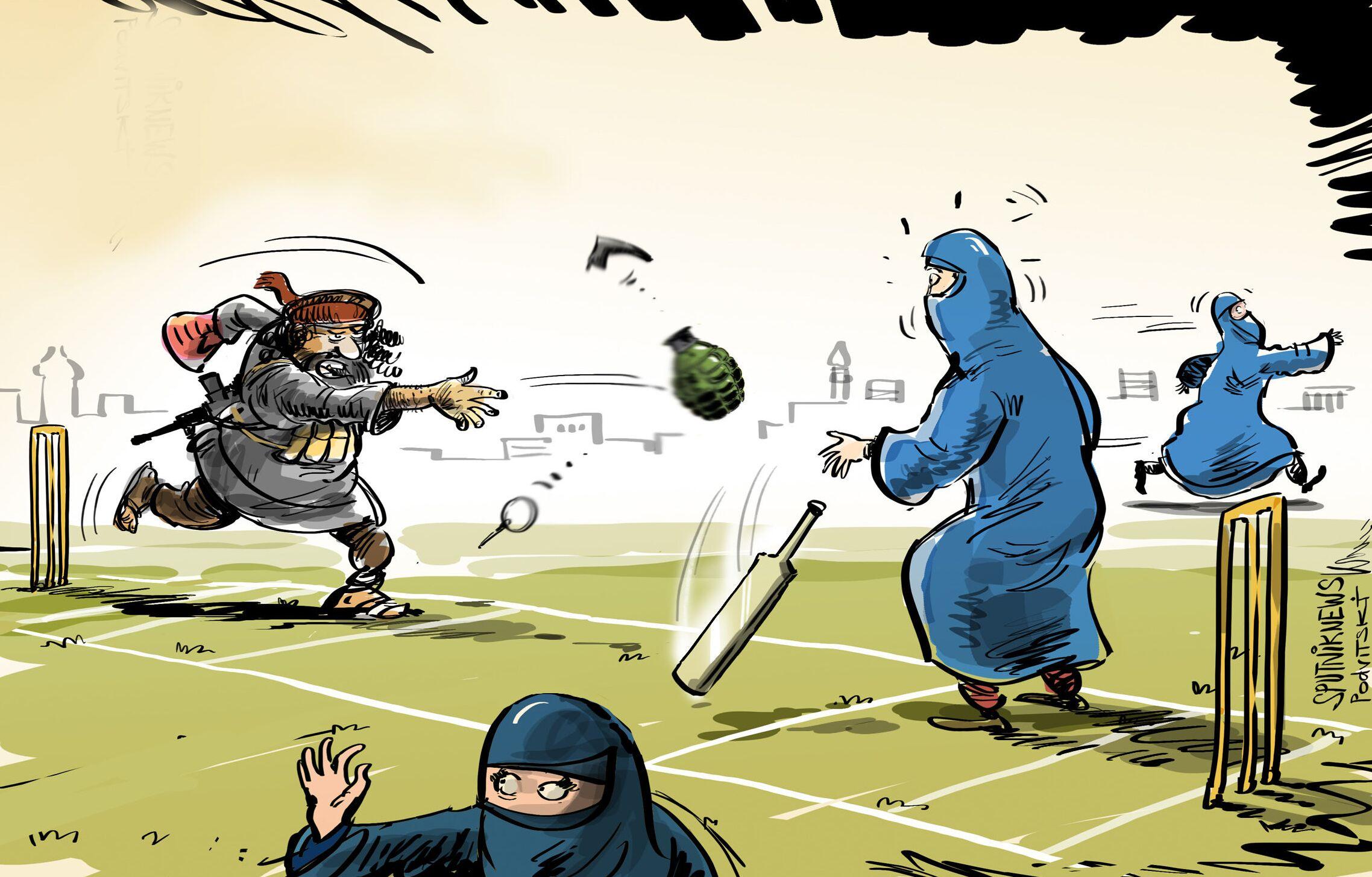 طالبان لن تسمح للنساء بلعب الكريكيت