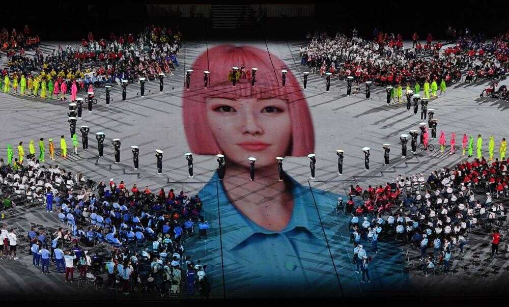 حفل ختام الدورة الـ16 للألعاب البارالمبية الصيفية للمعاقين في طوكيو، اليابان 5 سبتمبر 2021