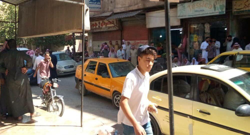 مسلحو قسد يطلقون النار على أحد وجهاء قبيلة البكارة في الحسكة، سوريا 10 سبتمبر 201