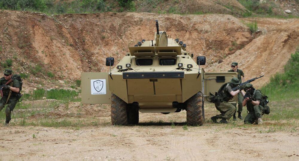 مركبة استطلاع قتالية روسية من طراز بي إر دي 2 إم
