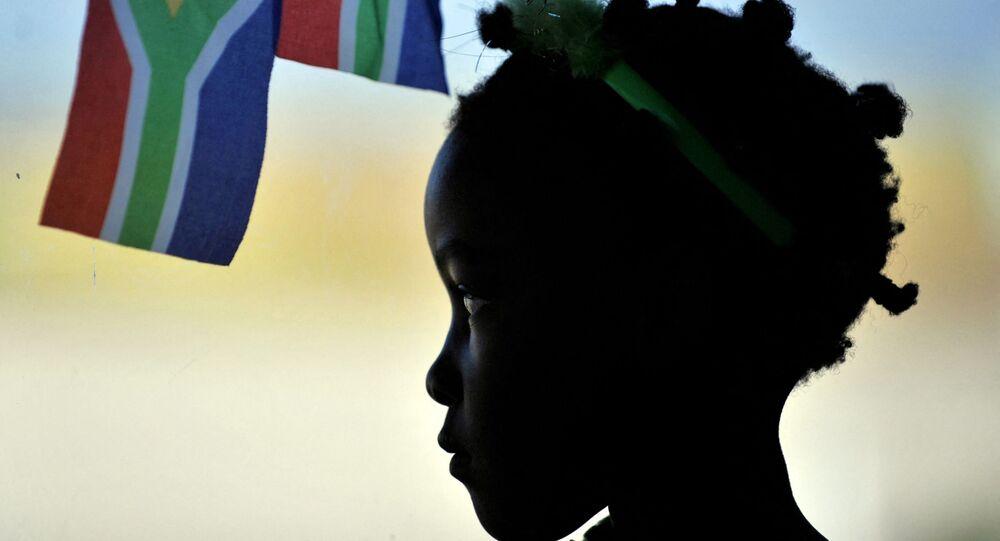 فتاة من جنوب أفريقيا