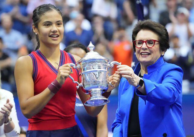 لاعبة التنس البريطانية إيما رادوكانو