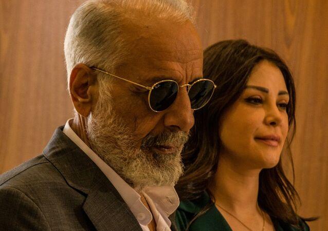 فريق تصوير مسلسل فيك أب السوري من بطولة أيمن زيدان وإخراج أحمد إبراهيم أحمد