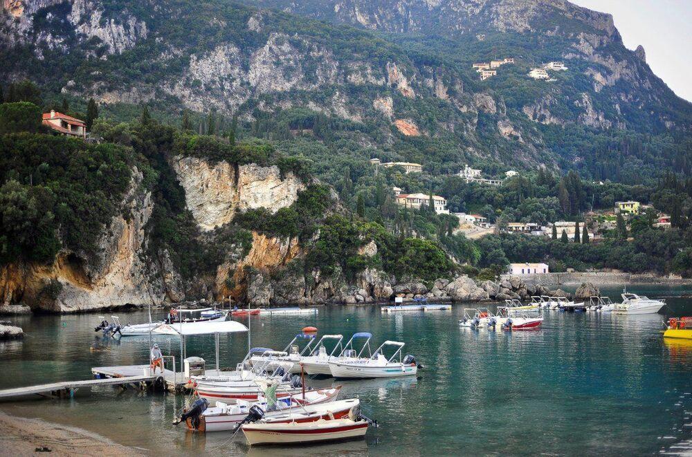 جزيرة كورفو، اليونان