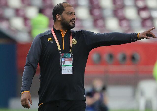 التونسي معين الشعباني، المدرب الجديد لفريق المصري البورسعيدي
