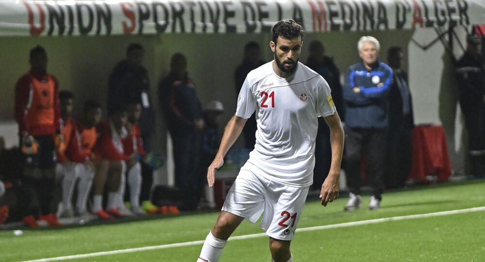 التونسي حمدي النقاز لاعب فريق الزمالك المصري الجديد