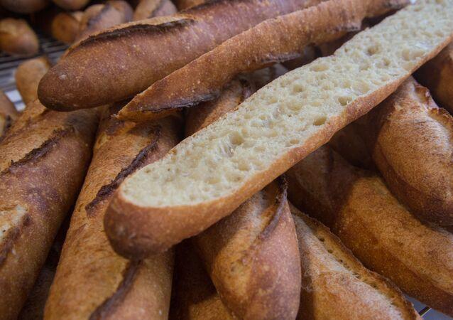 خبز الباجيت الفرنسي