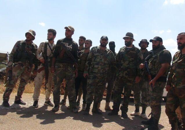 الجيش السوري يواصل انتشاره غرب درعا ويستعد لدخول (مزيريب وتلشهاب)