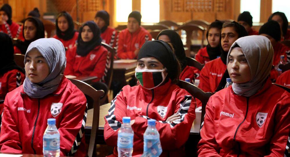فريق كرة القدم النسائي الأفغاني