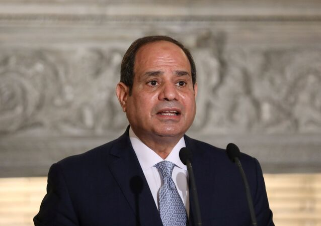 الرئيس المصري عبدالفتاح السيسي في أثينا، اليونان 11 نوفمبر 2020