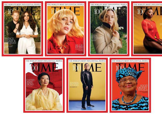 مجلة تايم الأمريكية تطرح قائمتها السنوية لأكثر 100 شخصية مؤثرة في عام 2021