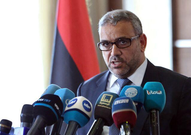 رئيس المجلس الأعلى في ليبيا خالد المشري