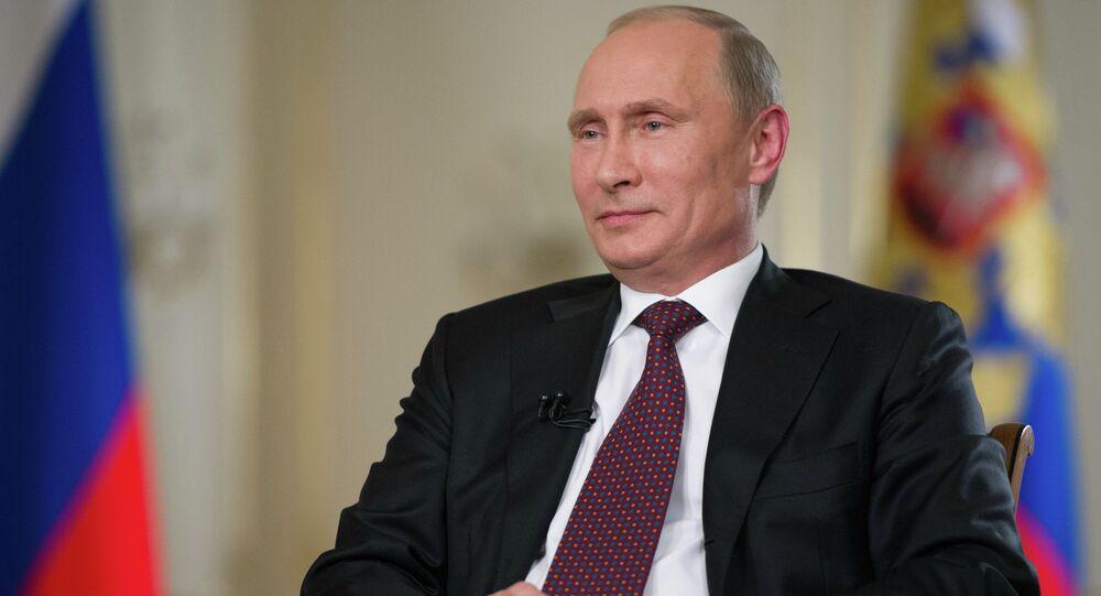 مقابلة الرئيس فلاديمير بوتين