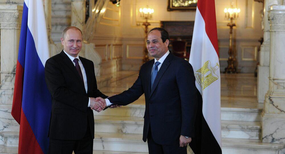 زيارة بوتين إلى مصر اليوم الثاني