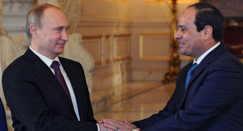 بوتين والسيسي