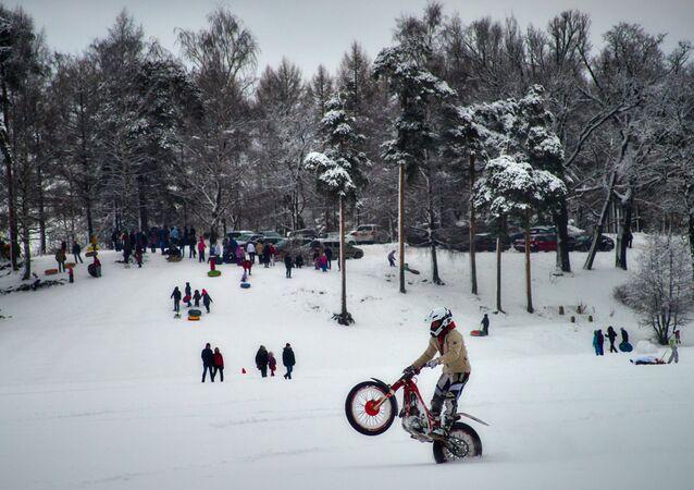 عطلة الشتاء في سانت بطرسبورغ