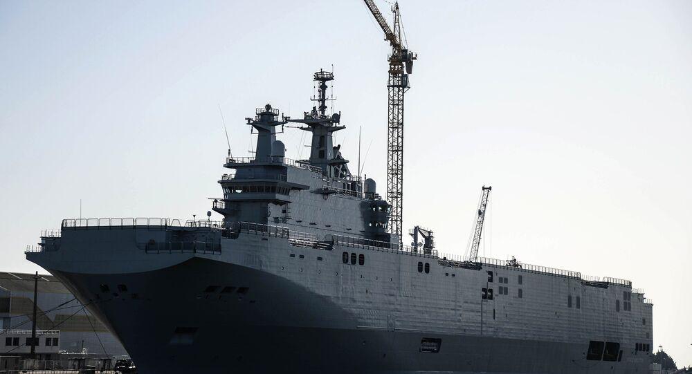 سفينة ميسترال الفرنسية