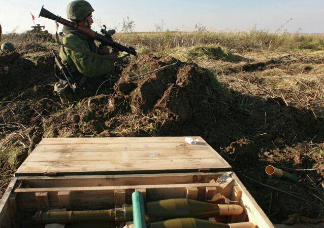 استخدام قاذف ار بي جي 7 صاروخي في تدريب