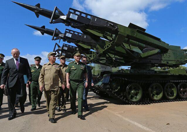 زيارة وزير الدفاع الروسي سيرغي شويغو إلى كوبا