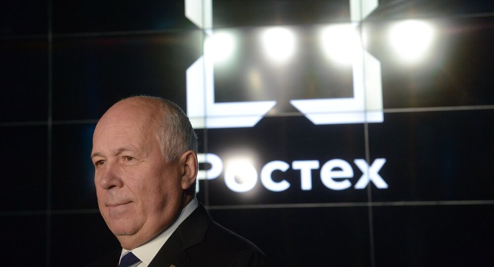 سيرغي تشيميزوف، المدير العام لشركة روستيخ