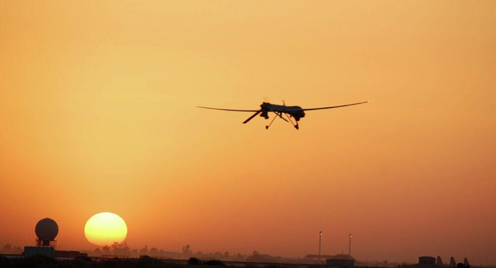 طائرة بدون طيار أمريكية