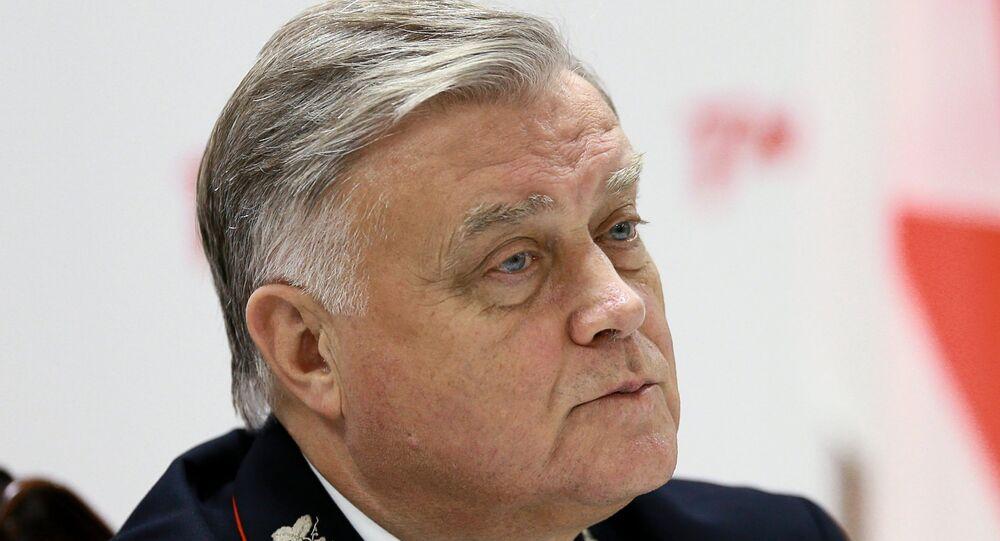 فلاديمير ياكونين، رئيس شركة السكك الحديدية الروسية