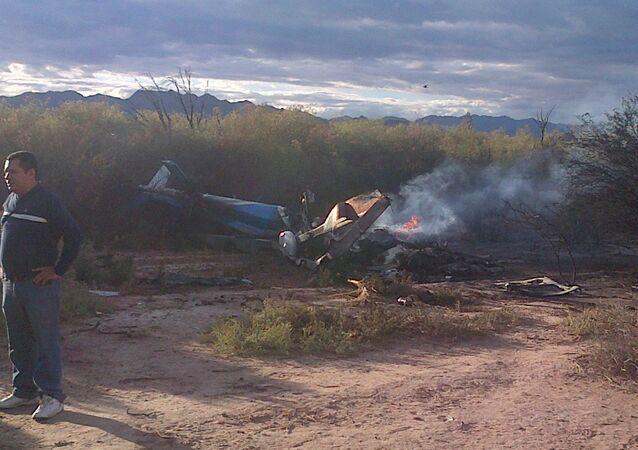 حادث طائرة هليكوبتر