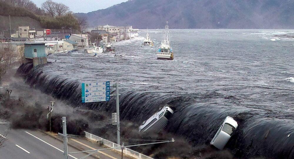 التسونامي في اليابان عام 2011