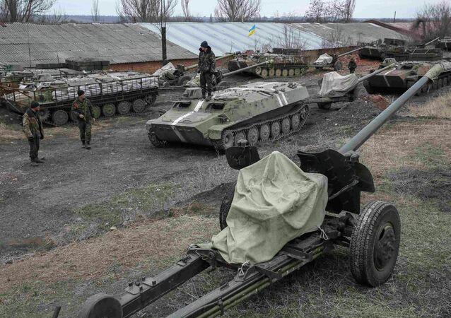 القوات الأوكرانية