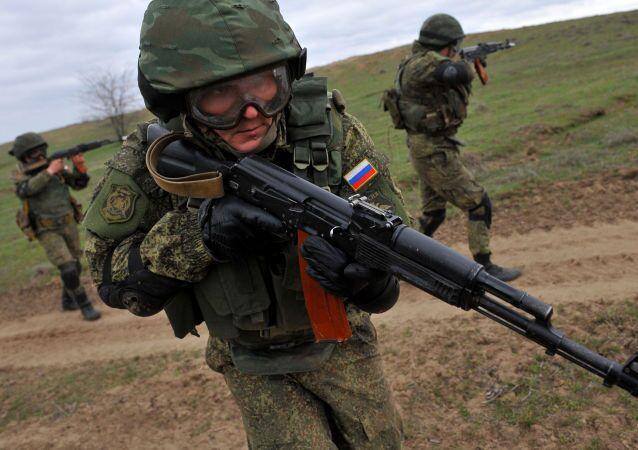 تدريبات عسكرية روسية