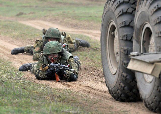 مناورات عسكرية روسية