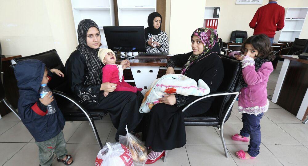 الأزمة السورية وتاثيراتها على المرأة