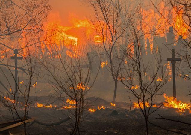 حريق (صورة تعبيرية)