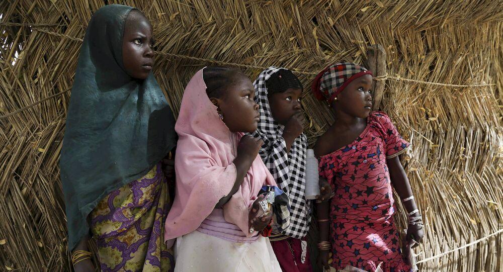 أطفال نيجيريا