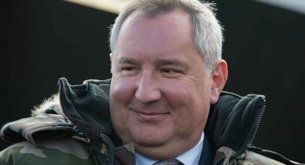 دميتري روغوزين، نائب رئيس الحكومة الروسية