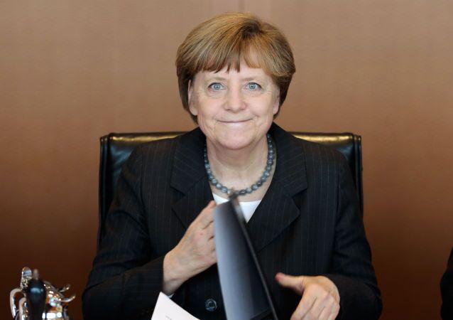 انجيلا ميركل، رئيسة الحكومة الألمانية