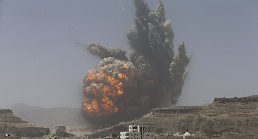 الغارات الجوية على اليمن