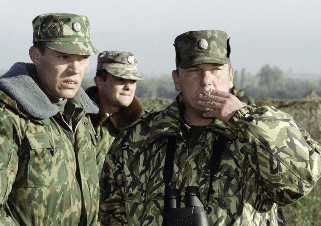 قادة القوات الحكومية الروسية في شمال القوقاز