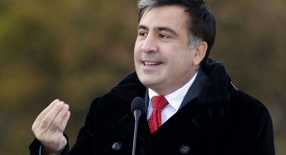ميخائيل سآكاشفيلي، الرئيس الجورجي الأسبق