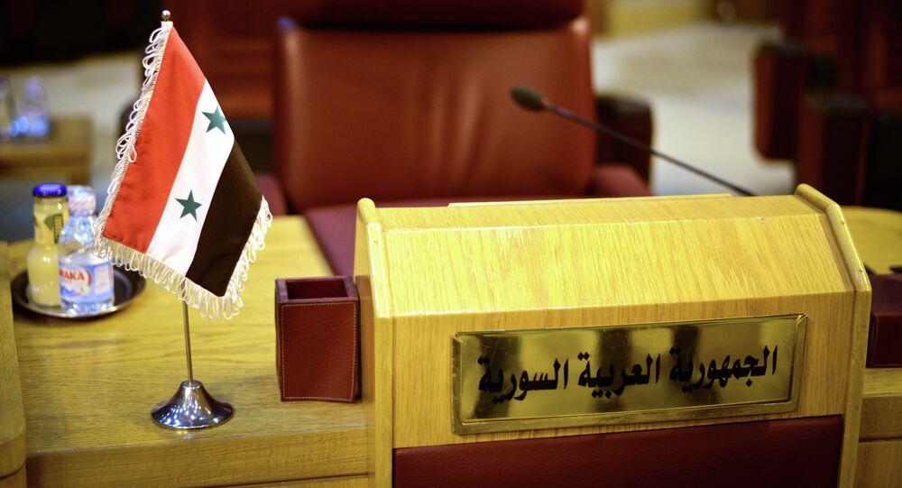 مقعد سورية في جامعة الدول العربية