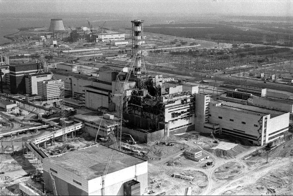 مفاعل مدمر بمحطة تشيرنوبيل النووية